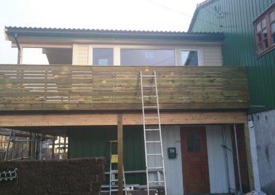 Ferdig tilbygg på eksisterende bolig bolig Nedre Skjoldvei
